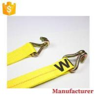China 2 Inch 20ft 25ft 27ft 30ft Truck and Car Big Tie Downs Heavy Duty Ratchet Straps with Hooks wholesale
