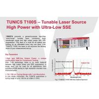 China TUNICS T100S  Tunable Laser Source High Power with Ultra-Low SSE wholesale