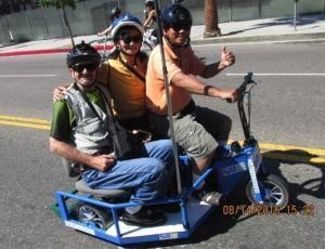 Quality Deafscooter's Electric SideCar Scooter for sale