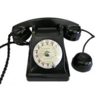 China Culture French Black Bakelite Phone wholesale