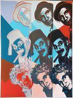 China Andy Warhol Ii.232 The Marx Brothers 1980   Hand Signed Screenprint More Avail wholesale