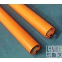 Red section aluminum pipe