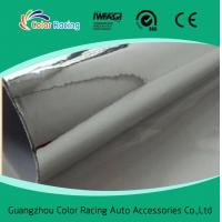 China Color Racing Vinyl Wrap Film 1.52x30m self adhesive mirror silver chrome mirror vinyl wrap wholesale