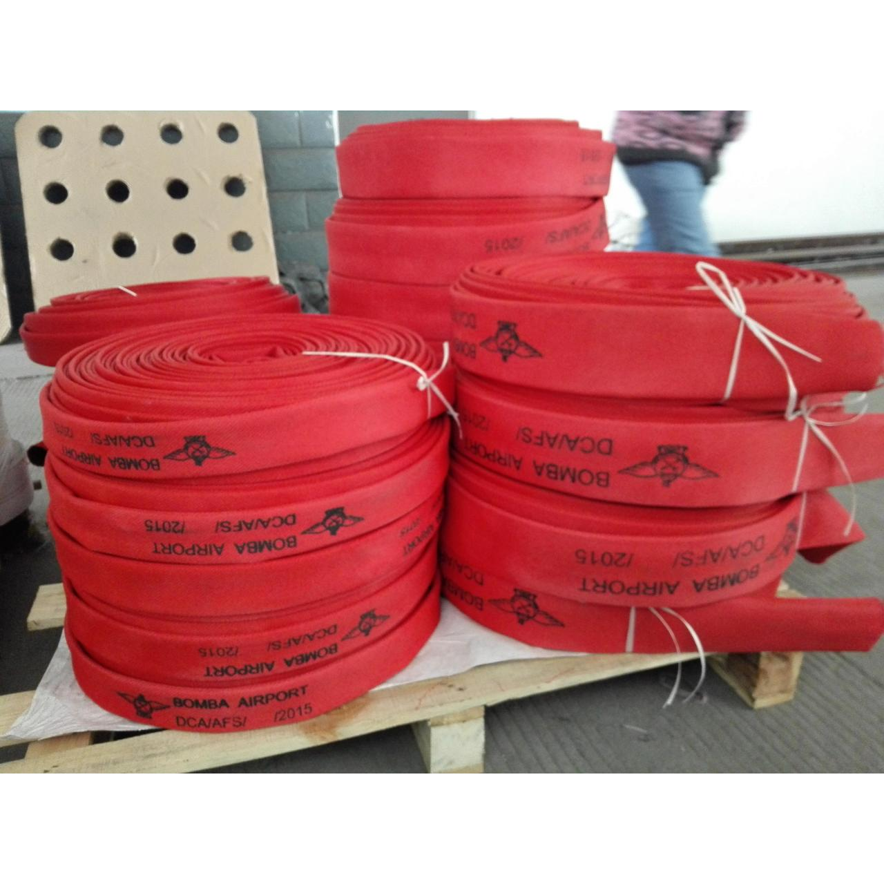China Synthetic rubber fire hose wholesale