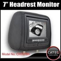 Buy cheap 7 inch car headrest TV monitors / car backseat monitors for back seat entertainment system CH7018H from wholesalers