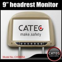 China Universal 9 inch car headrest monitors with ISDB-T DVB-T ATSC-MH receivers optional, CATEC CH9005A wholesale