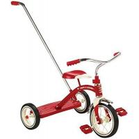 China Radio Flyer Classic Tricycle with Push Handle, Red on sale