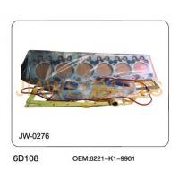 China KOMATSU 6D108 Engine Full Gasket wholesale