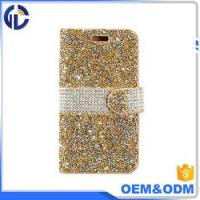 China 2017 china phone diamond cover case manufacturer leather cell phone case for iphone 7 6 wholesale