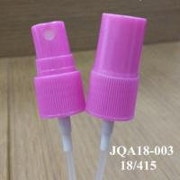 China Plastic dispenser cosmetic 18/415 liquid spray pump wholesale