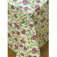 China Rose Time Flannel Backed Vinyl Tablecloth by Broder MFG Inc on sale