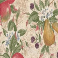 China Everyday Fruits Flannel Back Vinyl Tablecloth by Newbridge on sale
