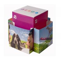 China New Style Custom Folding Cardboard Leaflet Holder on sale