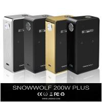 China Best Selling Electronic Cigarette-snow Wolf 200W Plus Box Mod wholesale