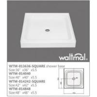 China Shower Enclosure and Screen Product  WTM-013636 North American Shower Tray wholesale