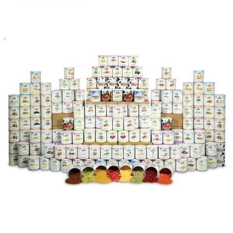 Quality Food Supply Kits Deluxe 4-Person One Year Kit for sale