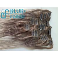 China Double Drawn Clip In Brazilian Hair Extension Large Stocks Any Color Size 8-30inch Customization Ava wholesale