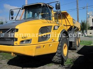 China Two 2012 Volvo A35F 35-Ton Articulated Haul Trucks used for sale