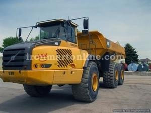 China Volvo A40E 40-Ton Articulated Truck 11859 used for sale