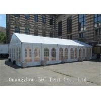 Light Frame Steel Structure Large Wedding Tents , Fire Retardent Commercial Event Tents