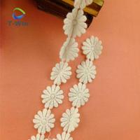 Beautiful flower chemical ace trim for cloth decoration