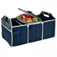China Original Folding Trunk Organizer with Cooler by Picnic at Ascot - Navy wholesale