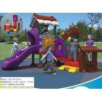China Competitive Price Children Outdoor Plastic Playground Structures Used in Kindergarten and Park wholesale