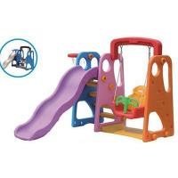 China Kids Plastic Slide and Swing Play Sets for Home wholesale