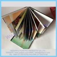 Wholesale PT-GP-009 Self-adhesive PVC sheet for album, photo book, memory book, menu inner pages from china suppliers