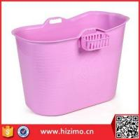 SGS test passed Cheap Plastic Portable Bathtub for Adults