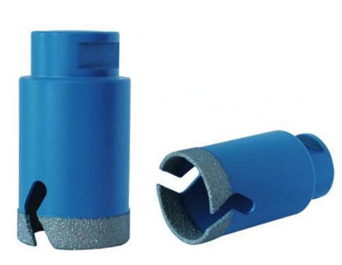 China For Concrete Vacuum brazed thin wall diamond core bits for tile