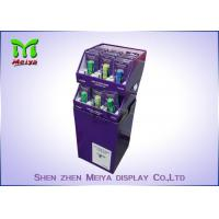 Wholesale Store Cardboard Recycling Bins , Cardboard Display Bins For Drinks And Market Promotion from china suppliers