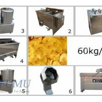 China Semi-automatic Banana Chips Processing Line on sale