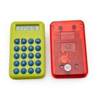 China 8 digits mini size calculator with button battery wholesale