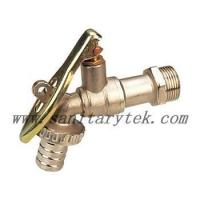 China Code: V26-006 Ball hose bibcock with lockpad eye,steel handle wholesale