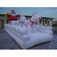 China santa with deer wholesale