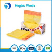 China Recycled HDPE / LDPE with D2W Plastic Biodegradable Drawstring Garbage Bag wholesale