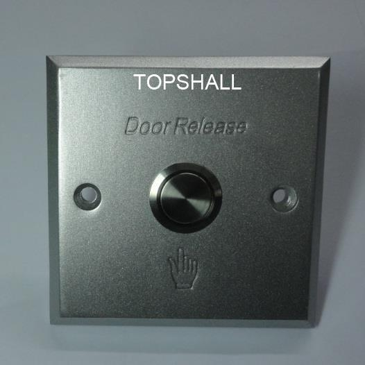 China 86x86mm Square Metal Doorbell Push Button Panel switches with Metal Push Button switches