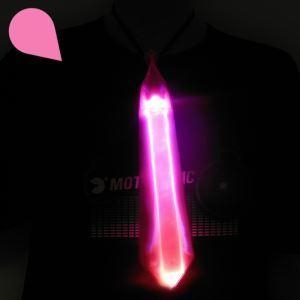 Quality Fashionable Gift LED Ties Reflected Crystal Lattice Luminous Necktie As Seen On Today Show for sale