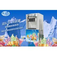 China Low Energy Consumption Soft Serve Freezer with R404A / R22 Refrigerant , 1 Year Warranty wholesale