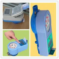 China PPO Material IC Card Water Prepaid Meters , 15mm - 25mm Household Water Meter Touch Type wholesale