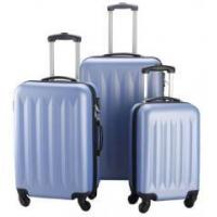 China Pi Set Travel Bag gag Suitcase rav Blue ABS ABS Trolley Lightweight y L 3 Piece Luggage wholesale
