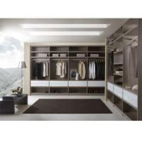 China Modern Design Walk in Closet Plywood Open Wardrobe wholesale