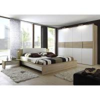 China Modern White Gloss Bedroom Furniture With Lacquer Wardrobe, White Bedroom Set, Armoire wholesale