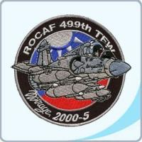 China 01030231 Taiwan Air Force Military Badge - ROCAF 499TH TFW MIRAGE 2000-5 (01030231) on sale