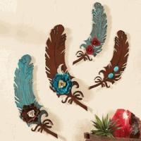 China Metal Art Feathers wholesale