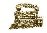 China One Pair of Pioneer Engine Railroad Trains Cuff Links on sale