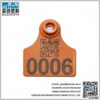 pig farm equipment female ear tag with small size 42*49mm