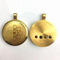 China Stainless steel energy pendant with 4healthcare stone on sale
