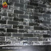 Wholesale Bliss Iceland Marble and Glass Linear Mosaic Tiles for Kitchen Backsplash or Bathroom Walls from china suppliers